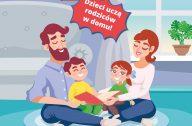 dzieci uczą rodziców w domu - logo