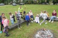 przedszkolaki przy ognisku